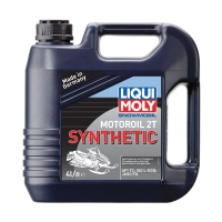 Моторное масло LIQUI MOLY Snowmobil Motoroil 2T Synthetic, 4л